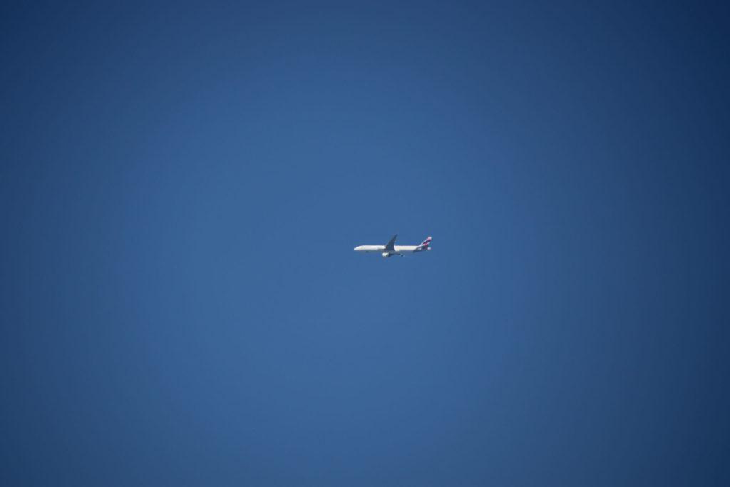 Flieger am Himmel - Air France?
