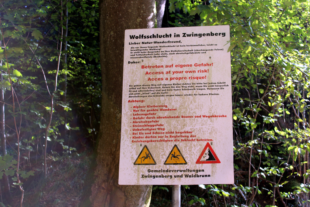 Zwingenberg – Wolfsschlucht – Neckargerach