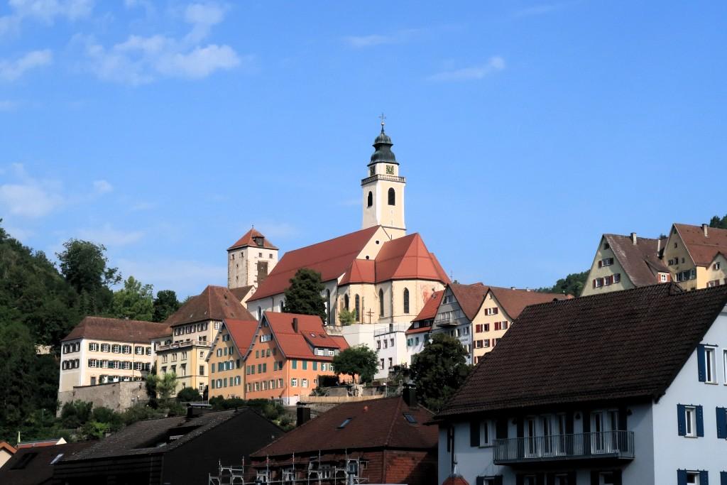 Von Horb am Neckar nach Pforzheim entlang der Nagold