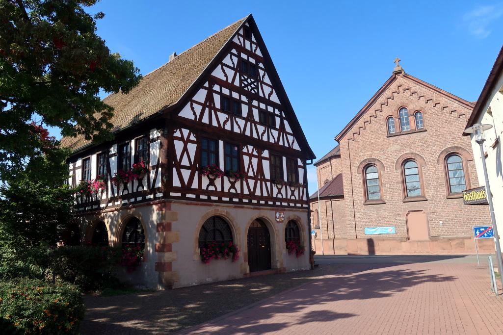 Schwetzingen – Bad Dürkheim – Neustadt a. d. Weinstraße
